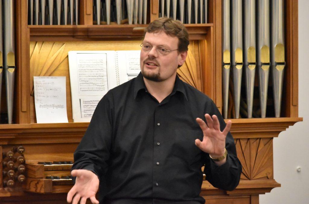 Succesvol concert door meesterimprovisator Sietze de Vries