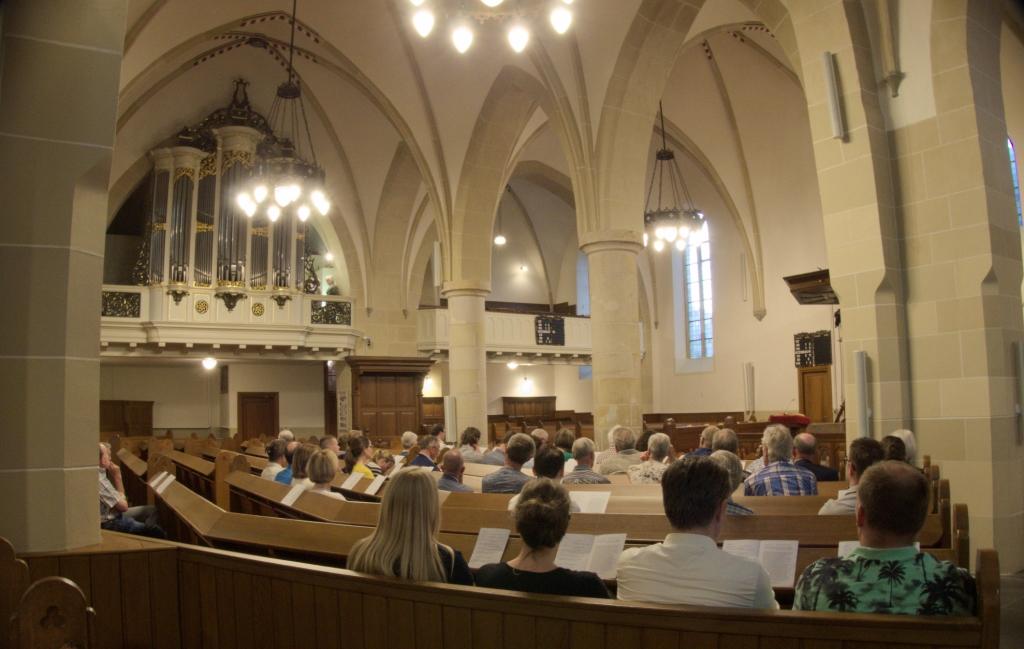 Jubileumconcert Dick Sanderman 40 jaar stadsorganist