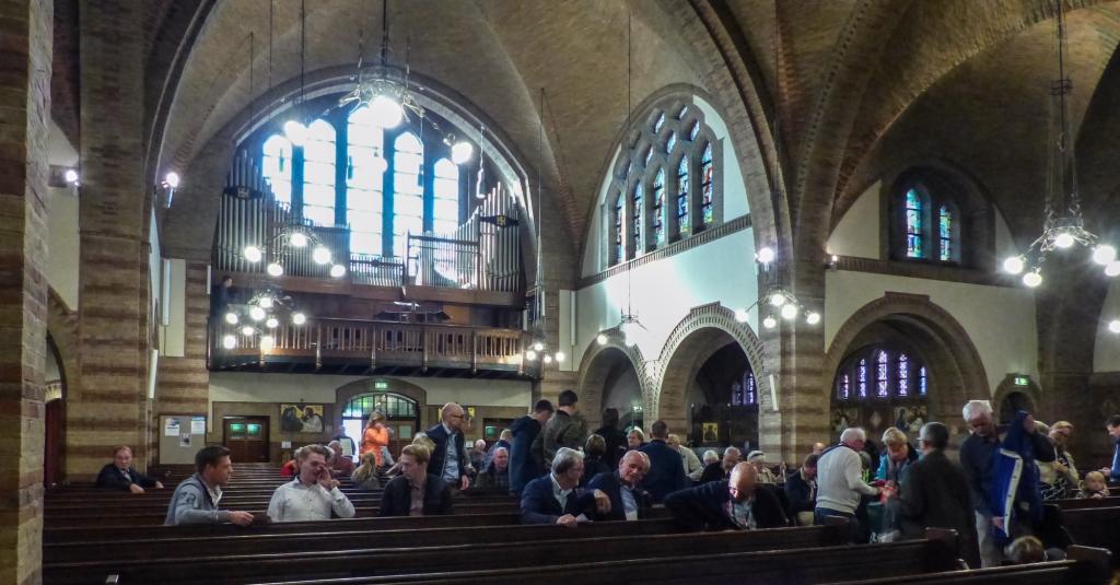 Orgel- en beiaardwandeling 2018: veel publiek en mooi weer!