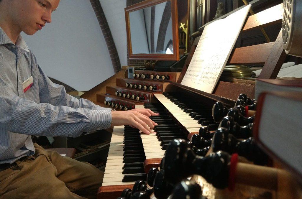 Orgeltalent Maarten Wilmink