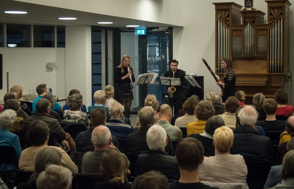 Jong talent in de Brusselzaal